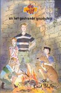 VIJF 01 GESTRANDE GOUDSCHIP