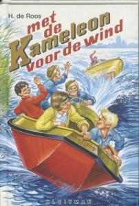 KAMELEON MET DE KAMELEON VOOR DE WIND