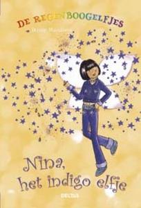 De regenboogelfjes Nina, het indigo elfje