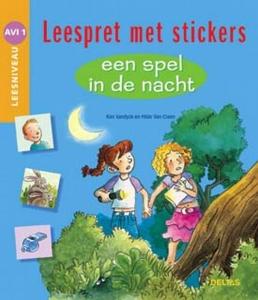 Leespret met stickers - Een spel in de nacht AVI 1