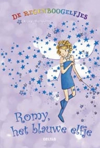 De regenboogelfjes Romy, het blauwe elfje