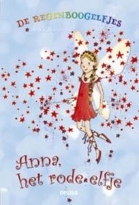 De regenboogelfjes Anna, het rode elfje