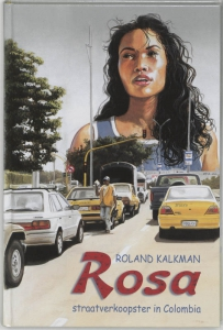 ROSA  straatverkoopster in Colombia