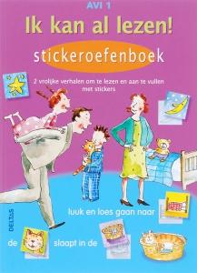 Ik kan al lezen! Stickeroefenboek AVI 1