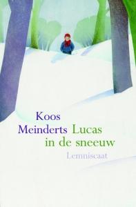 Lucas in de sneeuw