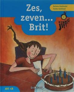 Jippie leesboek 8 AVI 4B Zes, zeven…Brit!
