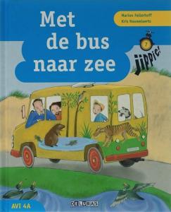 Jippie leesboek 7 AVI 4A Met de bus naar zee