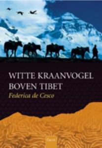 Clavis historisch Witte kraanvogel boven Tibet