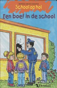 School op hol Een boef in de school
