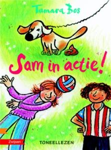 Toneellezen Sam in actie!