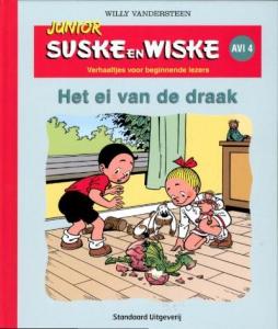 Junior Suske en Wiske Het ei van de draak
