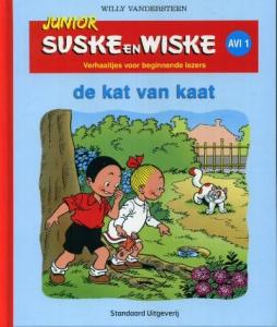 Junior Suske en Wiske De kat van Kaat
