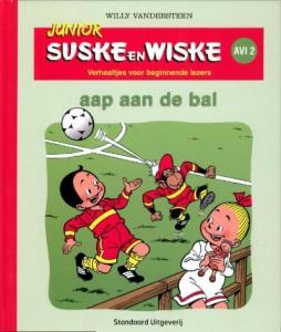 Junior Suske en Wiske Aap aan de bal