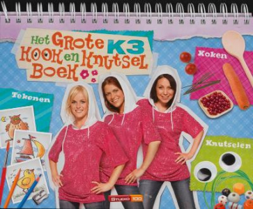 Het grote K3 kook en knutselboek
