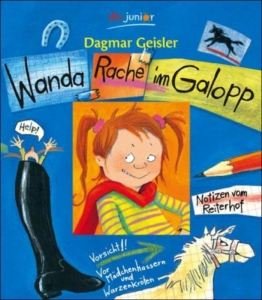 Wanda Wraak te paard