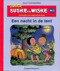 Junior Suske en Wiske Een nacht in de tent