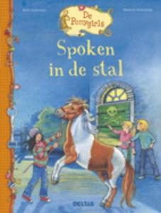 De ponygirls Spoken in de stal