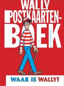 Waar is Wally  Postkaartenboek