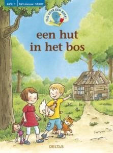 Tijd voor een boek! Een hut in het bos