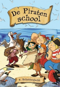 PIRATENSCHOOL 4 SCHATTENJACHT SET VAN 3