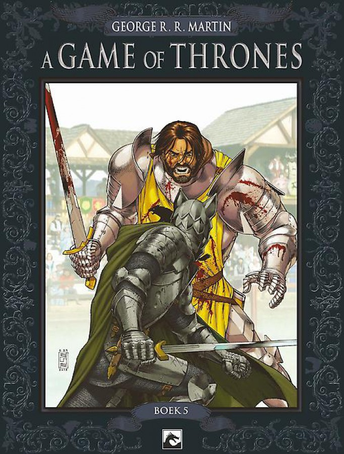 Crown Collection A game of thrones boek 5