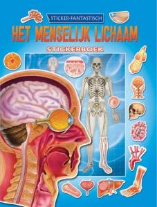 Menselijk lichaam stickerboek