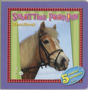 Schattige paarden - stencilboek