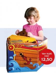 Piratenschip! Vouw- en speelboek