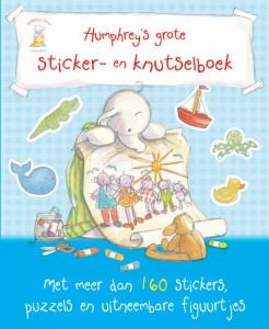 Humphrey's grote sticker- en knutselboek