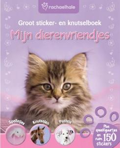 Mijn dierenvriendjes, groot sticker- en knutselboek