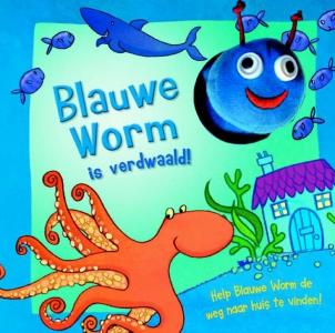 Blauwe worm is verdwaald!