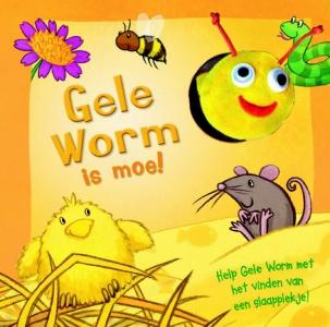 Gele worm is moe