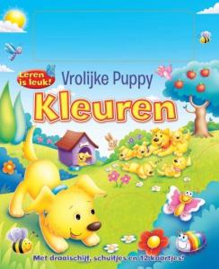 De vrolijke puppy; kleuren