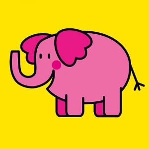 Buggyboekje: dieren (olifant)