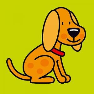 Buggyboekje: dieren (hond)