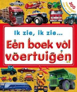 Een boek vol voertuigen