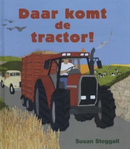 Daar komt de tractor!