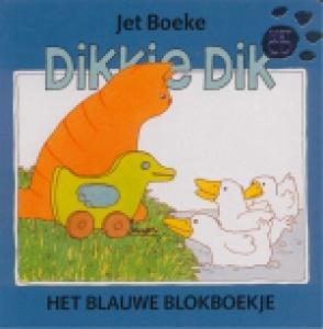 DIKKIE DIK BLOKBOEKJE BLAUW EN CD