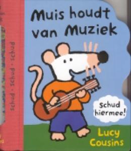 Muis houdt van muziek