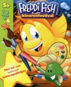 FREDDI FISH KLEURENFESTIVAL