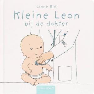 Clavis peuter Kleine Leon bij de dokter