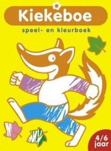 KIEKEBOE: SPEEL- EN KLEURBOEK (DAS) (4-6 JAAR)