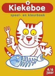 KIEKEBOE: SPEEL- EN KLEURBOEK (KAT) (4-6 JAAR)