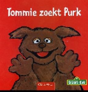 TOMMIE ZOEKT PURK. SESAMSTRAAT