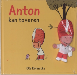 Anton kan toveren met vingerpopje