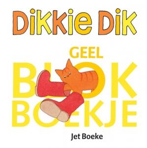 Dikkie Dik Geel blokboekje