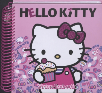 Hello Kitty Vriendenboek Luxe editie