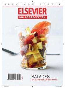 Speciale editie Elsevier 100 Toprecepten
