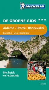 Groene gidsen Michelin Ardèche, Drôme, Rhônevallei