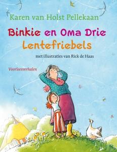 Binkie en oma Drie Lentefriebels